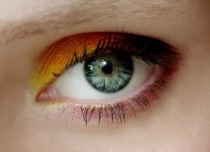 Lidschatten bei blauen Augen