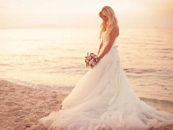perfekte Brautkleid