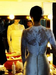 Column Hochzeitskleid - Beauty Lounge